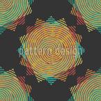 指紋の星 シームレスなベクトルパターン設計