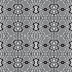 Pixel Folklore Seamless Vector Pattern Design