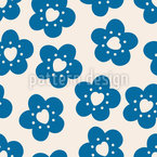 Little Flowers Have A Heart Seamless Vector Pattern
