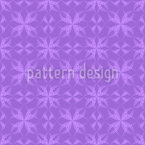 Amethyst Floral Seamless Vector Pattern Design