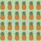 Pineapples Vector Pattern