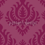 Purple Baroque Seamless Vector Pattern Design