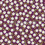 Gänseblümchen Regen Nahtloses Vektormuster