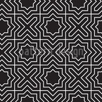 Cross And Star Seamless Vector Pattern Design