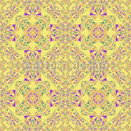 Kaleidoscope In Spring Vector Ornament