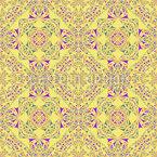 Kaleidoskop Im Frühling Nahtloses Vektormuster