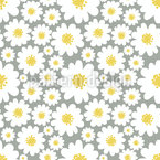 These Daisies Seamless Vector Pattern Design