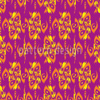 Tribal Fish Seamless Vector Pattern Design