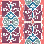 Romanesque Fresco Vector Design