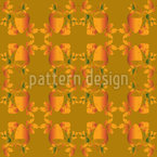 Acorns And Leaves Seamless Vector Pattern Design