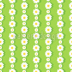 Daisies In Chains Seamless Vector Pattern Design