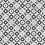 Floral Tile Mix Pattern Design
