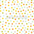 Dots In The Spring Seamless Vector Pattern Design