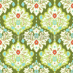 Damask Of Spring Design Pattern