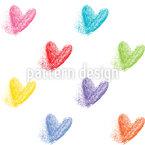 Herzen Schwinden Muster Design