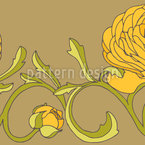 Persian Buttercup Vector Design