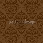 Chocolate Baroque Seamless Vector Pattern Design