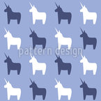 The Second Last Unicorn Seamless Vector Pattern Design