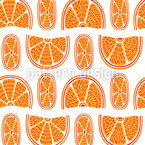 Juicy Oranges Pattern Design