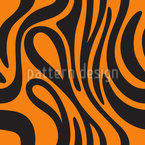 Tiger Skin Pattern Design