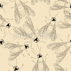 Buzzy Bees Vector Design