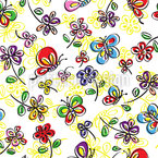 Butterfly Joy Seamless Vector Pattern Design
