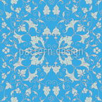 Magnífico Arabesco Design de padrão vetorial sem costura