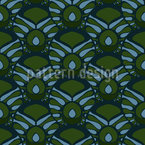 Tropical Deco Seamless Vector Pattern Design