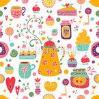 Sweet Joy Seamless Vector Pattern Design