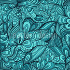 Fantasy Flowers underwater Pattern Design
