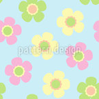 Yenty Floral Seamless Vector Pattern Design