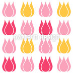 Total Tulip Seamless Vector Pattern Design