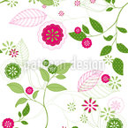 Spring Awakening Seamless Vector Pattern Design