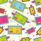 Funny Correspondance Pattern Design