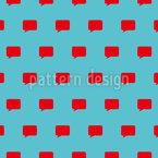 Speak Now Seamless Vector Pattern Design