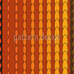 Oval Strip Seamless Vector Pattern Design