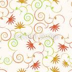 Zauberhafte Locken Blumen Vektor Design