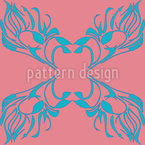 An Underwater Fairy Tale Seamless Vector Pattern Design