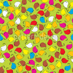 Twitter Birds Seamless Pattern