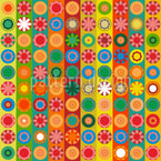 Flower Power Extreme Seamless Vector Pattern Design