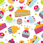 In The Pastry Seamless Vector Pattern Design