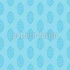 Ethno Flower Seamless Vector Pattern Design