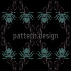 Tarantula Seamless Vector Pattern Design