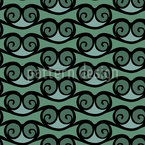 The Game Of The Waves Seamless Pattern