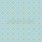 Vierpass Im Frühling Muster Design