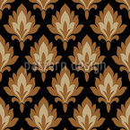 Folklore Damask Vector Design