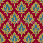 Royal Damask Seamless Vector Pattern Design
