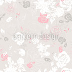 A Touch Of Roses Seamless Vector Pattern Design