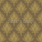 Quiet Damask Seamless Vector Pattern Design