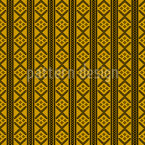 Stitch And Stripe Seamless Vector Pattern Design